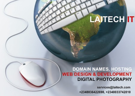 Laitech IT - +234 815 386 5793 - services {at} laitech dot com